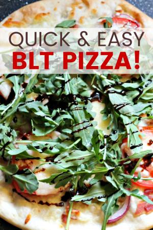 Quick & Easy BLT Pizza
