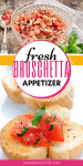 Fresh Summer Bruschetta Recipe