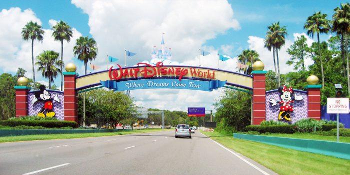 Entrance to WDW Orlando