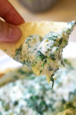 How To Make The Best Spinach Artichoke Dip With Only 3 Ingredients