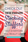 Stocking Stuffers People will really use Pin