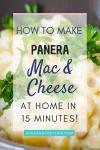 Copycat Panera Mac and Cheese Pin