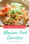 Crockpot Mexican Pork Carnitas Recipe