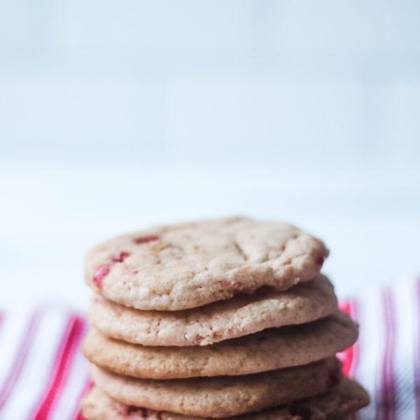 Soft & Chewy Cherry Almond Sugar Cookie Recipe