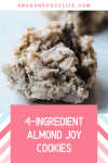 4-Ingredient Almond Joy Cookie Recipe