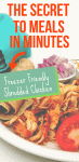 Meal Planning Using Frozen Shredded Chicken Recipe