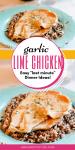 Quick & Easy Garlic Lime Chicken
