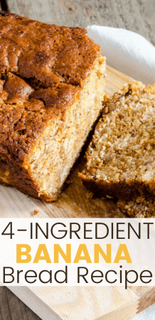 Easiest Ever Banana Bread Recipe