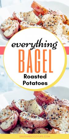 Everything Bagel Roasted Potatoes