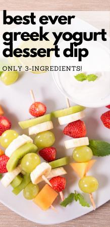 Quick & Easy Dessert Fruit Dip Recipe