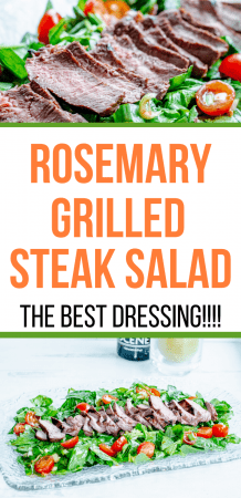 Rosemary Grilled Steak Salad