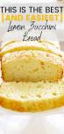 4-Ingredient Lemon Zucchini Bread