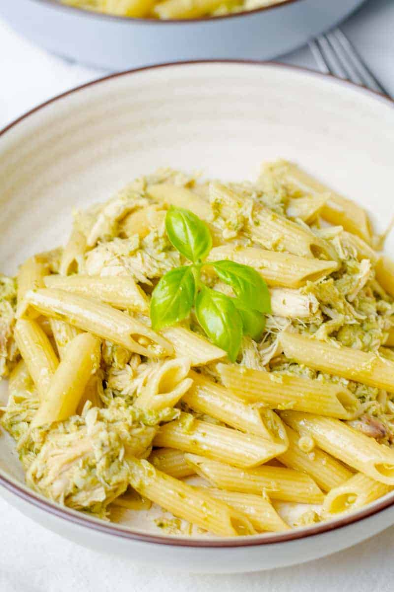 How To Make The Easiest Ever Chicken Pesto Pasta Snug Cozy Life