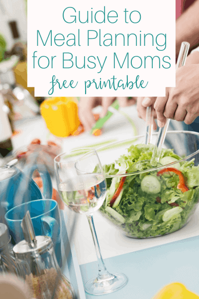 Guide to Meal Planning for Busy Moms Cover Image